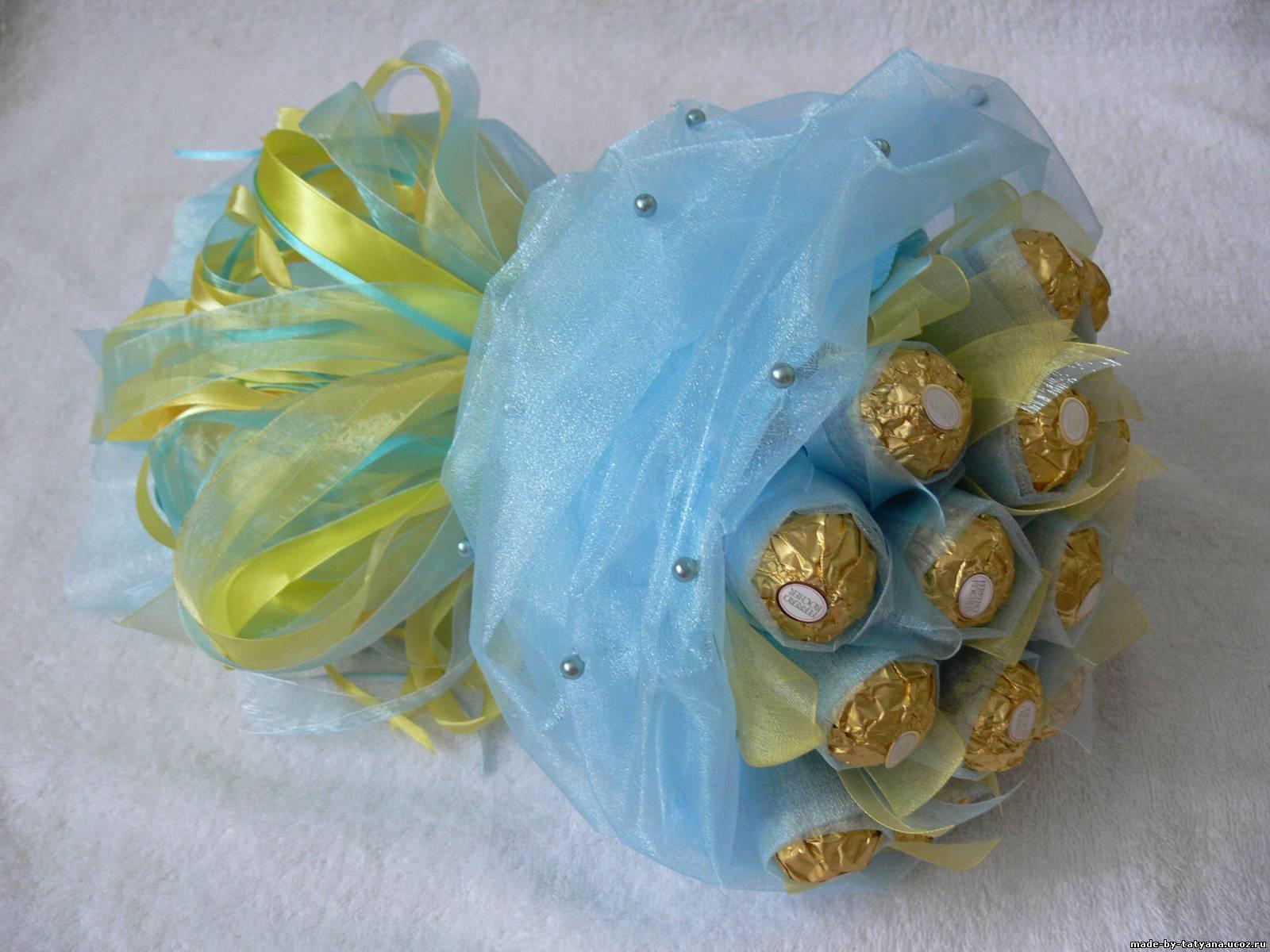 Букет из конфет своими руками: пошагово с фото - Мир Позитива 57