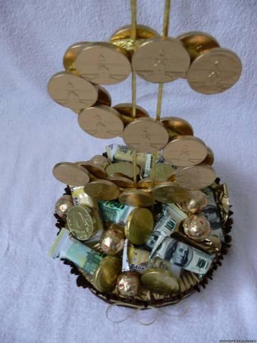 Доллар - Подарочные композиции - сладкие букеты - Фотоальбомы - оригинальные подарки